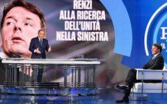 Renzi a Porta a Porta: «Se Berlusconi è candidabile lo sfido in un collegio. L'articolo 18? Mai più»