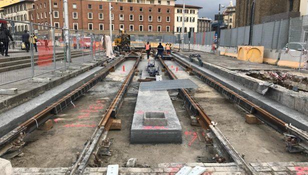 Firenze, tramvia shock: tratto da rifare in zona Stazione. Lavori difformi dal progetto