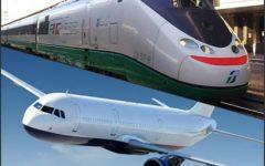 Trasporti: i passeggeri di aerei (+4,5%) e treni (+1%) crescono ma il mezzo preferito resta l'auto
