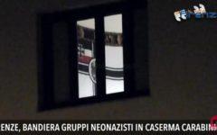 Firenze, bandiera neonazista in caserma, il carabiniere si scusa: «Non sapevo»