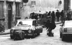 Firenze: ricordo dell'assassinio di Fausto Dionisi, appuntato della Polizia, medaglia d'oro al valor civile