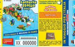 Lotteria Italia: 5 milioni ad Anagni. In Toscana 5 premi da 50mila. Tutti i biglietti vincenti