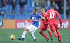Fiorentina demolita dalla tripletta di Quagliarella: 3-1 per la Samp. Addio Europa. Pagelle
