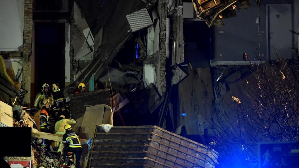 Esplode palazzina Anversa, 10-20 persone coinvolte