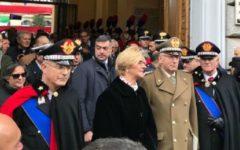 Roma: Carabinieri, cambio della guardia al vertice, Nistri sostituisce Del Sette, alla presenza del premier Gentiloni