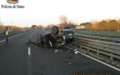 Firenze-Pisa-Livorno: muore 31enne nell'auto capottata. Superstrada chiusa per quasi 5 ore