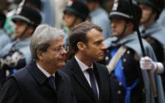 Roma: il presidente francese Macron incontra Mattarella e Gentiloni. Rapporti straordinari fra i due paesi