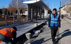 Firenze, tramvia: i lavori e i cantieri vanno avanti spediti. Soprallluogo di sindaco e assessore
