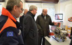 Firenze: Angelo Borrelli, capo protezione civile, visita centro dell'Università di Firenze