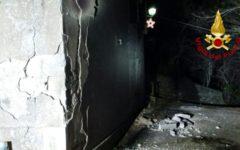 Chiusi della Verna (Ar): uomo estratto vivo dalle macerie di una casa crollata per esplosione di gas
