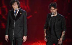 Sanremo: Meta-Moro testa a testa con lo Stato Sociale in vetta all'Airplay