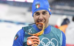 Olimpiadi invernali 2018: argento all'Italia nello sprint del fondo,  Pellegrino secondo al fotofinish