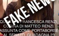 Elezioni: Renzi denuncia una fake news, ma la denuncia diventa un boomerang
