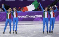 Olimpiadi invernali: argento nello short track per la staffetta femminile azzurra. E' la settima medaglia