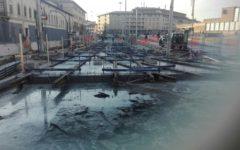 Firenze, tramvia: rinviati per maltempo lavori in via Valfonda. Tolto il divieto