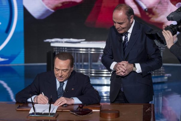 Berlusconi, da Vespa un nuovo 'Impegno con gli italiani'