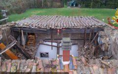 Pomarance (Pisa): crolla il tetto di una palazzina. Evacuate cinque famiglie
