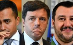 Governo: quotidiano dei vescovi auspica esecutivo di tregua in accordo Di Maio - Salvini - Renzi
