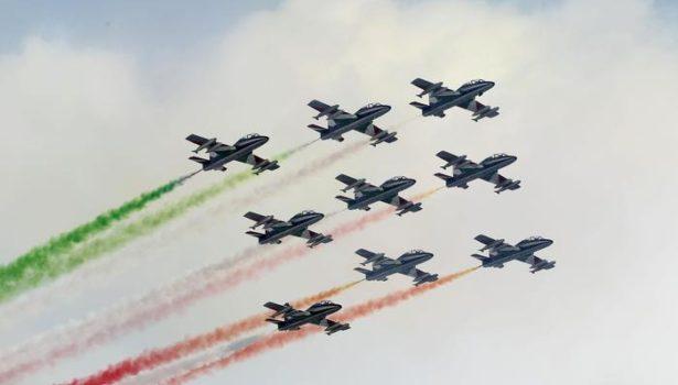 Firenze: Frecce Tricolori tornano, dopo 10 anni, il 28 marzo, celebrazione della Fondazione dell'Aeronautica Militare