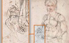 Michelangelo: scoperto autoritratto nascosto in un disegno, conservato al British Museum