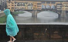 Allerta meteo: codice giallo su tutta la Toscana (piogge e temporali) fino a mezzanotte del 31 marzo