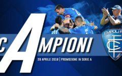 Empoli promosso in serie A: dopo il pari con il Novara (1-1). La gioia di Pasqual