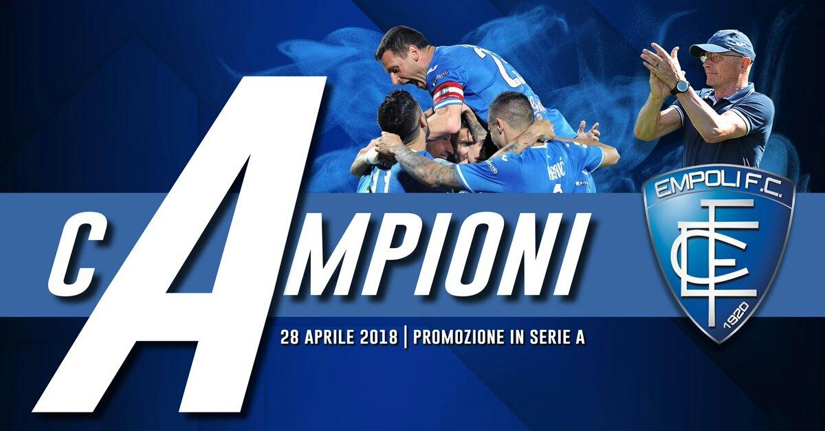 Serie B: l'Empoli torna in Serie A! Perdono Frosinone e Parma