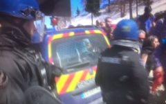 Clavière (To): quattro italiani, due anarchici, fermati dalla polizia francese per lo sconfinamento del corteo