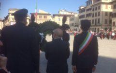 Firenze: in un centro blindato cerimonie della Liberazione senza incidenti (Foto e video). La Polizia respinge gli antagonisti