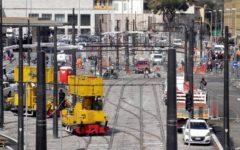 Firenze tramvia: pali neri alla stazione. Il sindaco assicura, miglioreremo l'impatto