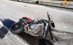 Livorno: motociclista 29enne gravemente ferito in un incidente sull'Aurelia