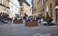 Firenze: libri e lucchetti contro il terrorismo. Le nuove barriere antisfondamento in città
