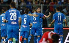 Empoli batte Perugia (2-1), fa festa per la A e alza la Coppa al Castellani