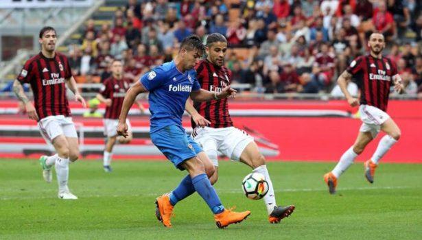 Fiorentina: perde pezzi (infortuni a Sportiello e Pezzella) ed è travolta (5-1) dal Milan davanti a Diego Della Valle. Pagelle