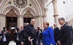 Assisi: Angela Merkel, preoccupazione per il governo giallo-verde in Italia