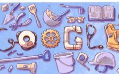 1 maggio: google lo festeggia con un doodle dedicato ai mestieri