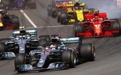 GP F1 Spagna: Dominano le mercedes, primo Hamilton, secondo Bottas, Ferrari fuori dal podio