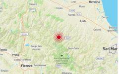 Terremoto di magnitudo 3.6 fra Emilia e Toscana. Avvertito anche in provincia di Firenze