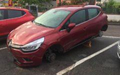 Poggibonsi: 30enne albanese ruba le ruote al vicino e le monta sulla sua auto