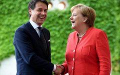 Berlino: Conte incassa la solidarietà e il sostegno della Merkel in tema d'immigrati e lotta alla povertà