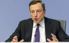 Manovra, pressing di Draghi sull'Italia: ridurre il debito è un obbligo