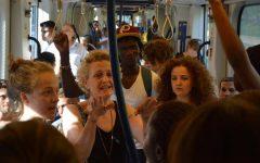 Firenze, giornata del rifugiato: flash mob sulla tramvia