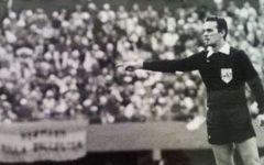 Calcio: è morto Sergio Gonella, ex arbitro internazionale. Diresse la finale mondiale del 1978