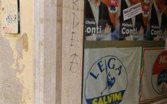 Pisa: imbrattata sede del candidato sindaco del centrodestra