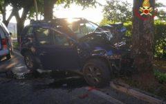 Chianciano terme (Si): muore nell'auto schiantata contro un albero