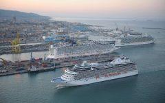 Livorno: boom di arrivi delle navi da crociera, sbarcati 9.000 passeggeri in un giorno