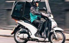 Firenze: ciclofattorini (riders) e Nidil Cisl manifestano il 1 maggio