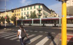 Tramvia: da lunedì 1 ottobre lavori per il riassetto della sosta sul tracciato della linea T1 Leonardo