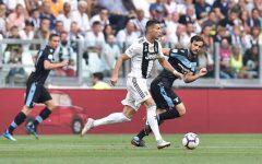 Cristiano Ronaldo: lesione modesta. Con l'Ajax ci sarà