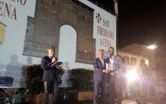 Firenze, Torrino d'oro: Antognoni ritira il premio per Pezzella. Applausi per Alessandro Paci, Nardella, Margherita Cassano